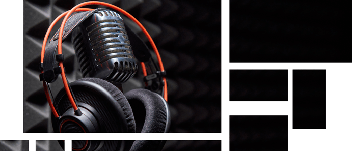 Moderation und Podcast - Storytelling Bücher und Geschichten -Tile-Design